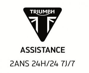Vous avez fait le choix de rouler en TRIUMPH et nous vous remercions de votre confiance.