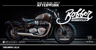 Afterwork présentation du nouveau Bobber by Triumph