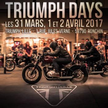 TRIUMPH DAYS 2017 DU 31/03 AU 02/04/2017